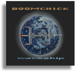Boomchick waveship album cover shadow