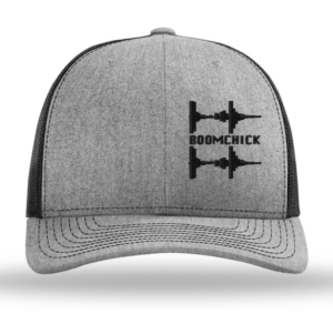 embroidered boomchick logo hat